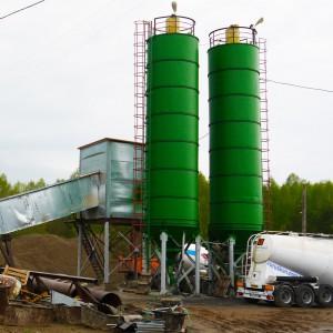 Бетонный завод в Кирово-Чепецке